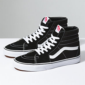 vans all black damen