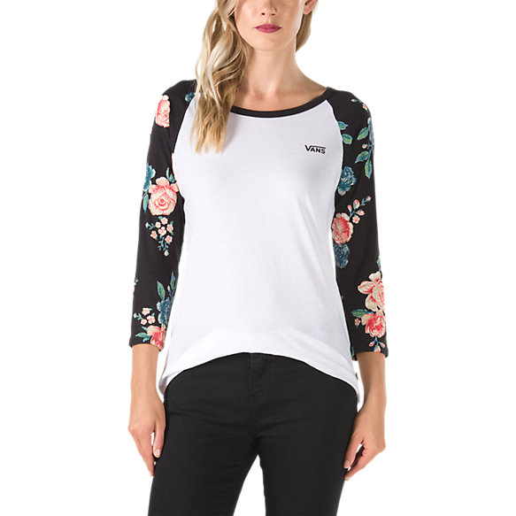 Winter Floral Raglan