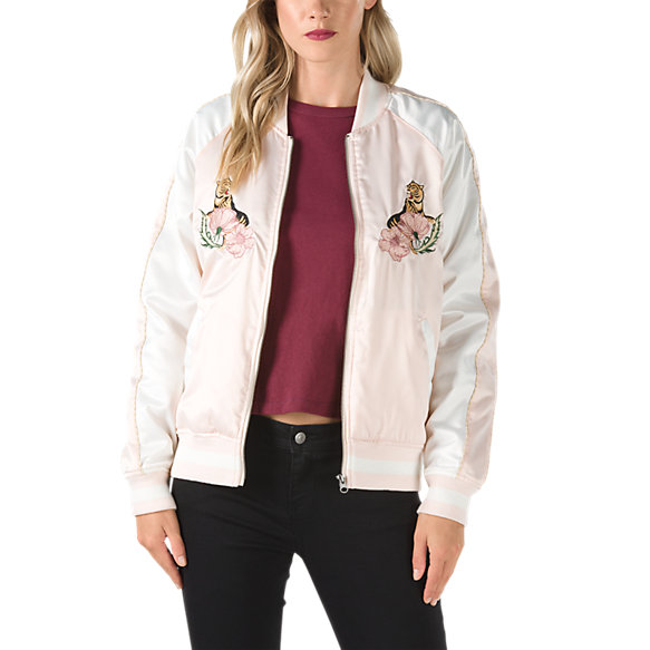 Souvenir Satin Embroidered Jacket