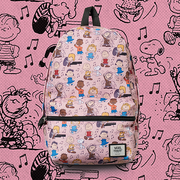 Vans x Peanuts Dance Party Calico Small Backpack