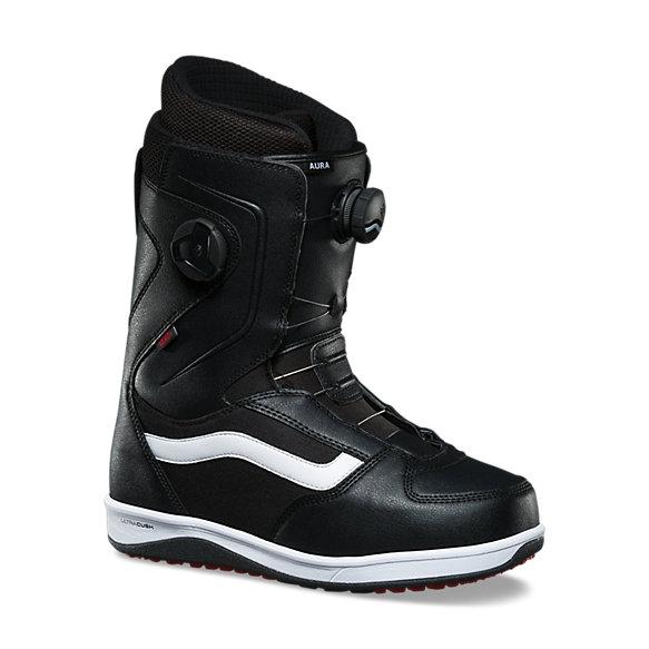 Vans Aura Boots de Snowboard, BlackWhite 15: