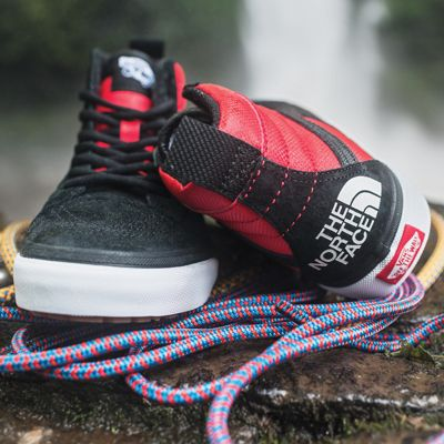 zapatillas vans the north face