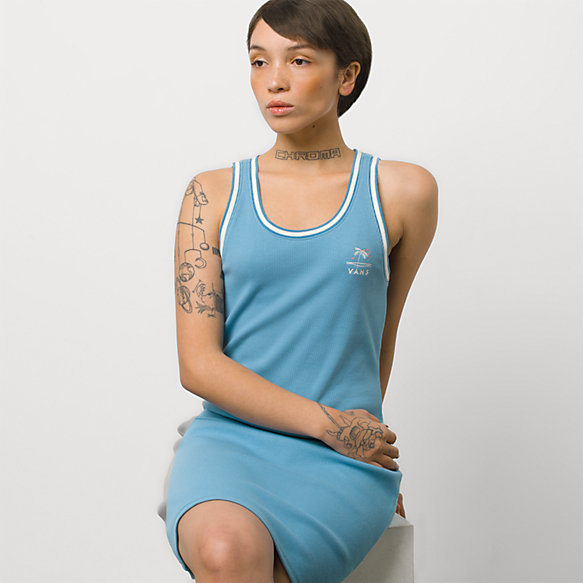 Retro Retirement Tank Dress