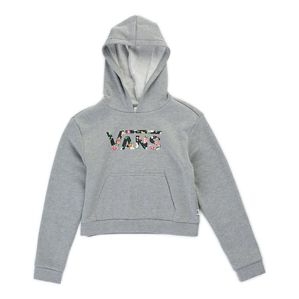 Girls Flying V Floral Hoodie