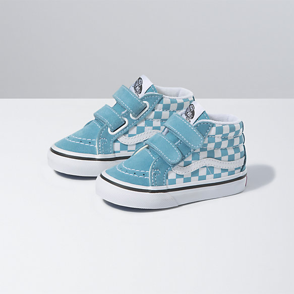 Toddler Checkerboard Sk8-Mid Reissue V