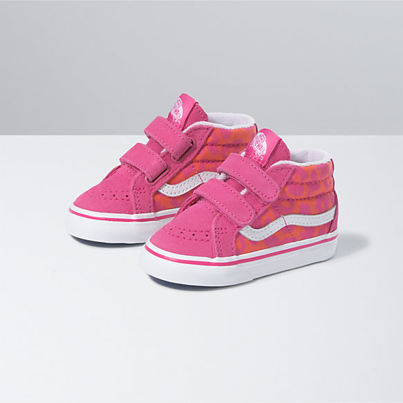 Toddler Neon Animal Sk8-Mid Reissue V