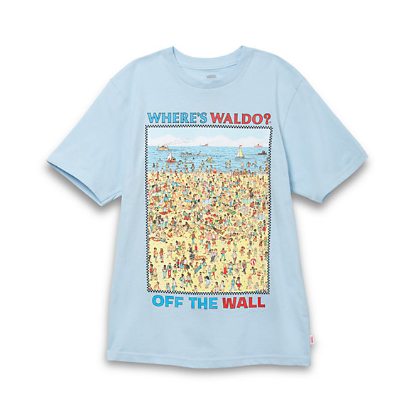 Vans X Wheres Waldo? Boys Beach T-Shirt