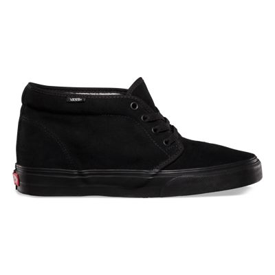 UK Low prices Vans Chukka Boot Suede Mens Shoes BlackWhite