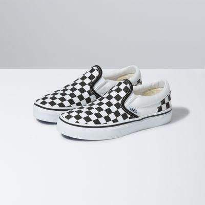 checkerboard vans 4.5