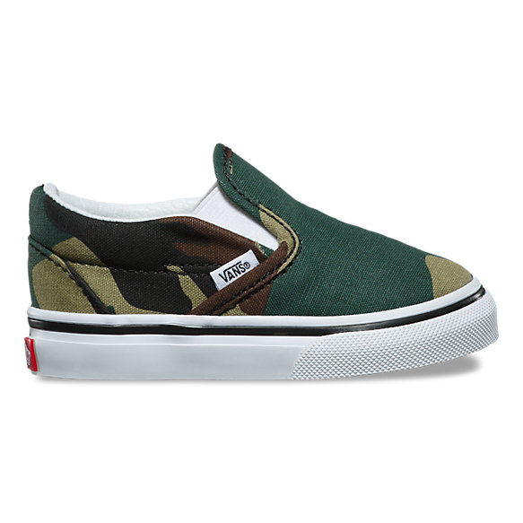 Toddler Woodland Camo Slip-On