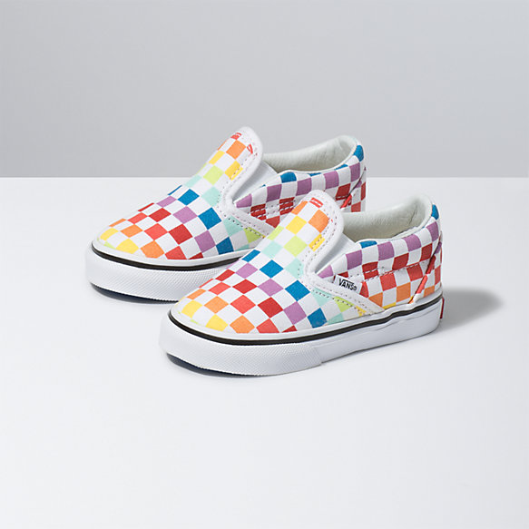 Toddler Checkerboard Classic Slip On