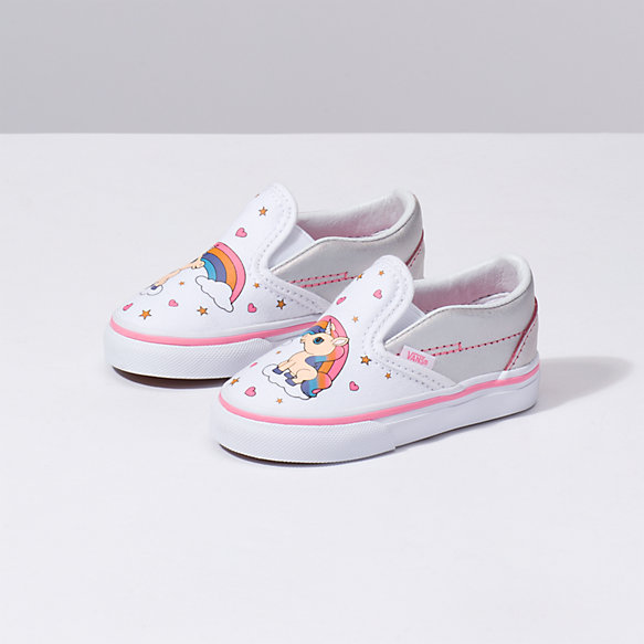 Toddler Unicorn Rainbow Classic Slip On