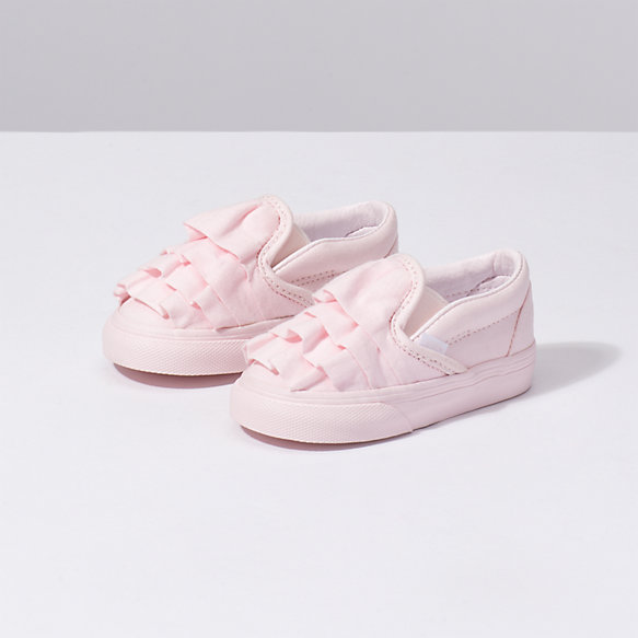Toddler Ruffle Classic Slip On