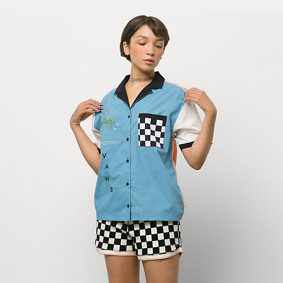 Retro Retirement Buttondown Top