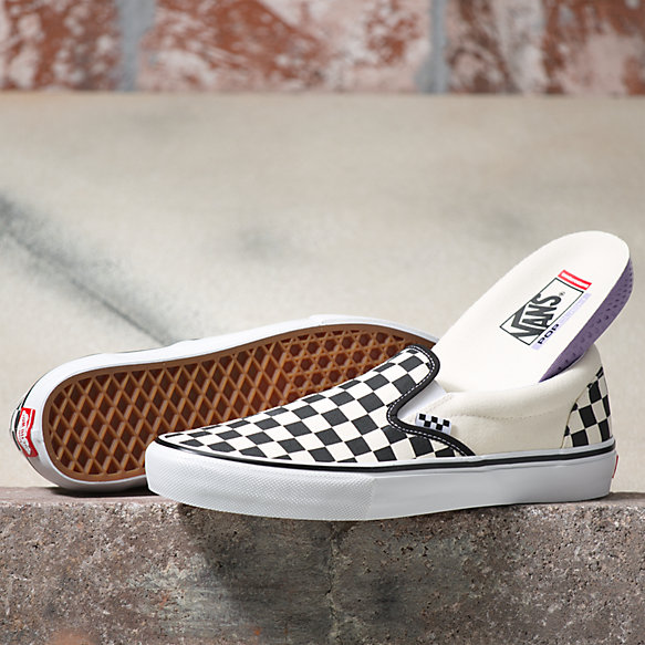 Checkerboard Skate Slip-On
