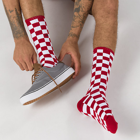 Checkerboard Crew II Sock