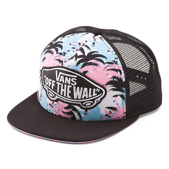 palm camo trucker hat shop womens hats at vans
