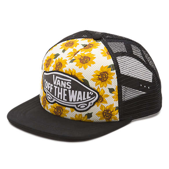 Beach Girl Sunflower Trucker Hat