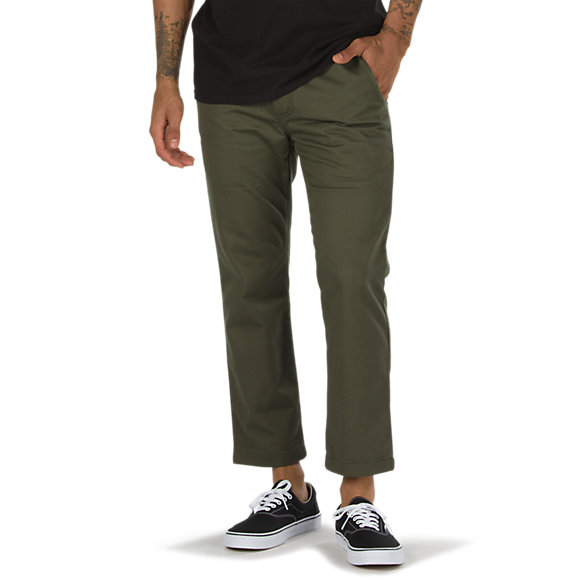 Authentic Chino Cropped Pant