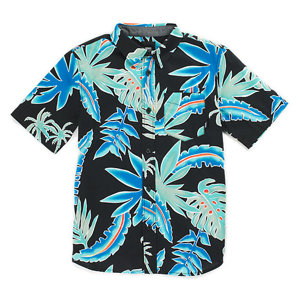 9282961b555cf0 Boys Pit Stop Floral Buttondown Shirt