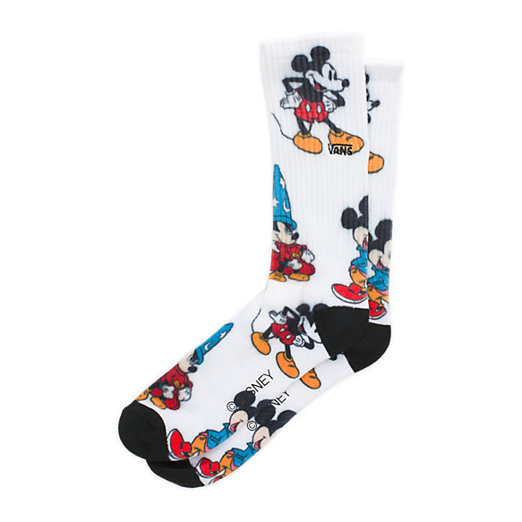 Disney x Vans Mickey Mouse's 90th Crew Sock