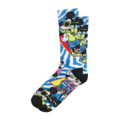 5d34344ddcd6 Disney x Vans Mickey Mouse s 90th Crew Sock