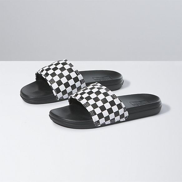 Kids Checkerboard La Costa Slide-On