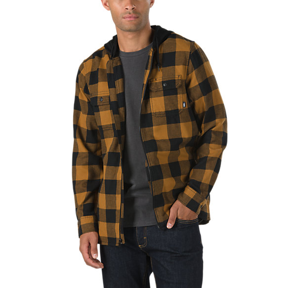 b4de428f18 Kenton Hooded Flannel Shirt