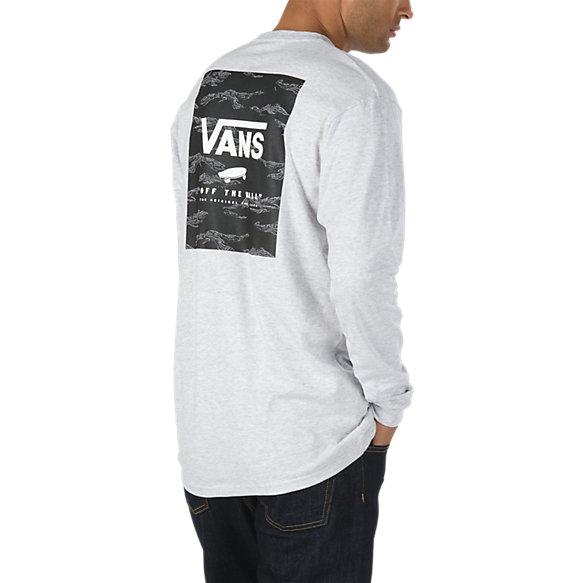 929b3f55fe Print Box Long Sleeve T-Shirt