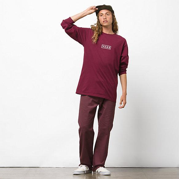 Vans Easy Box Long Sleeve T Shirt