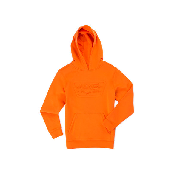 Kids Embossed Full Patch Pullover Hoodie