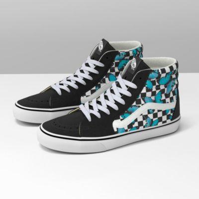 Butterfly Checkerboard Sk8-Hi