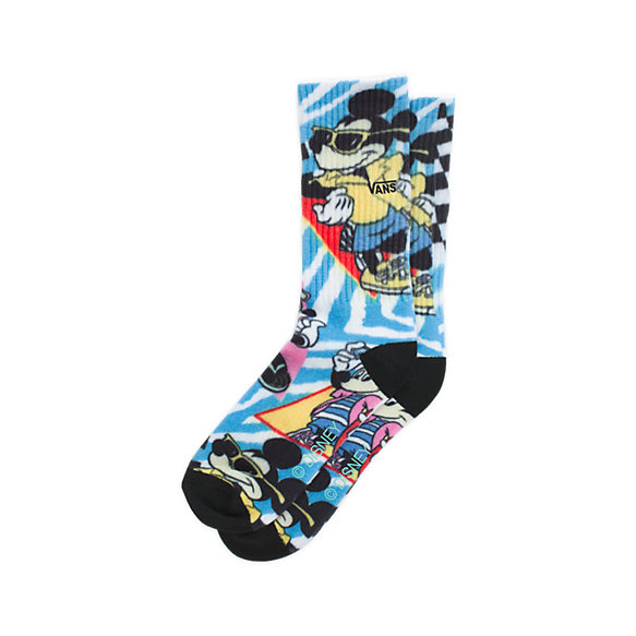 Disney x Vans Mickey Mouse's 90th Boys Crew Sock