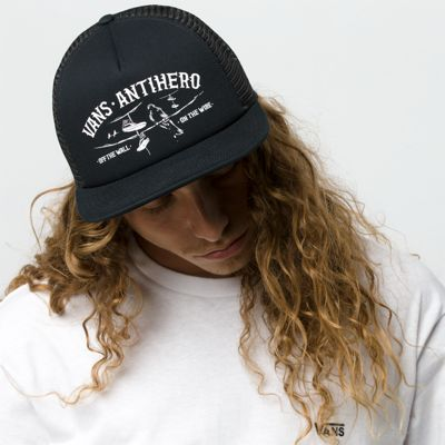 7ec9b4d70c3 Vans x Anti Hero Wired Trucker Hat