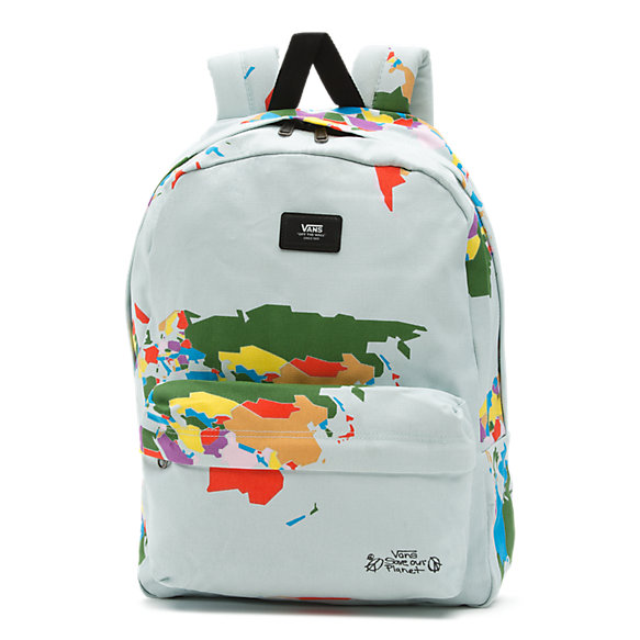 Save Our Planet X Vans Old Skool Printed Backpack