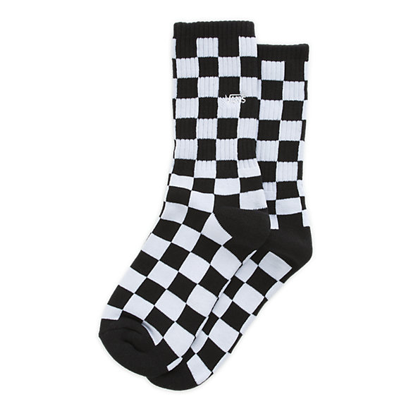 Youth Checkerboard Crew Sock