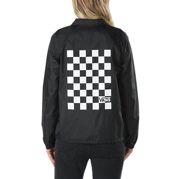 Thanks Coach Check Box Jacket Shop Womens Jackets At Vans