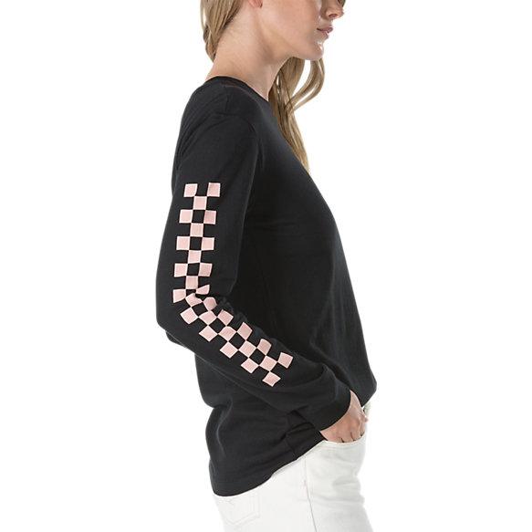 ae2552d2f Half Checked Long Sleeve T-Shirt | Shop Womens Tees At Vans