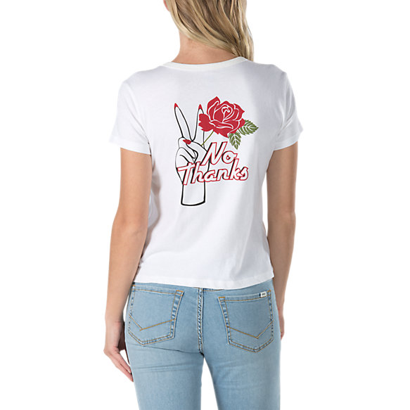 Thank You Rose Baby Tee | Shop Womens Tees At Vans