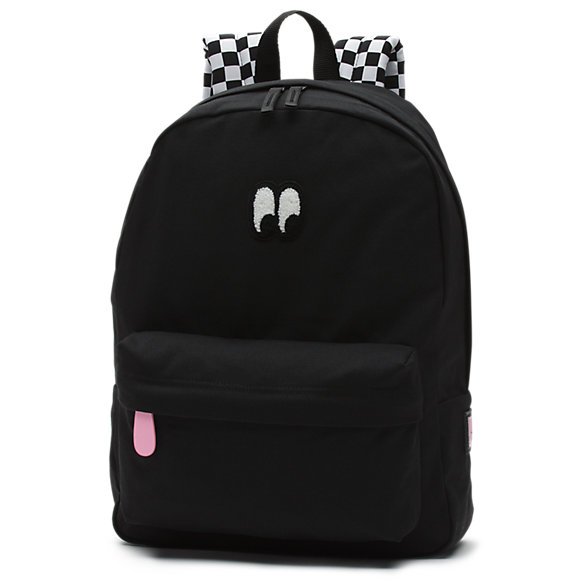 X Lazy Oaf Eyeball Backpack - Black Vans Clearance Ebay Discount Low Shipping Low Cost For Sale Top Quality Clearance High Quality 6a3RHmA7lx