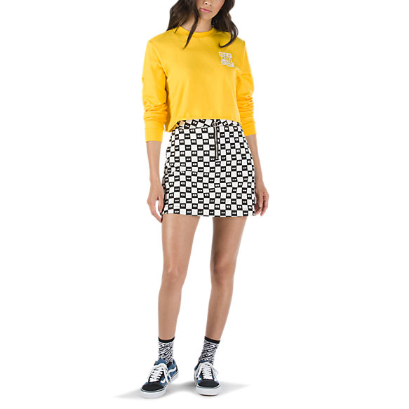 Vans x Lazy Oaf Eyeball Check Skirt