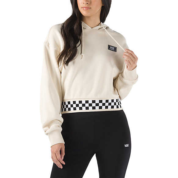 Boom Boom 66 Cropped Oversized Hoodie