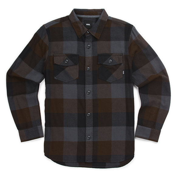Boys Box Flannel Shirt