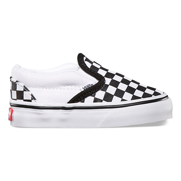 Toddler Checkerboard Slip-On