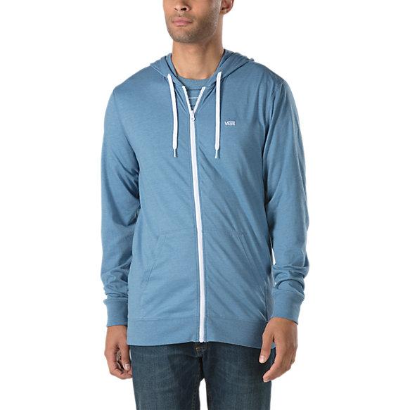 2a80baf36e702d Core Basics Knit Zip Hoodie