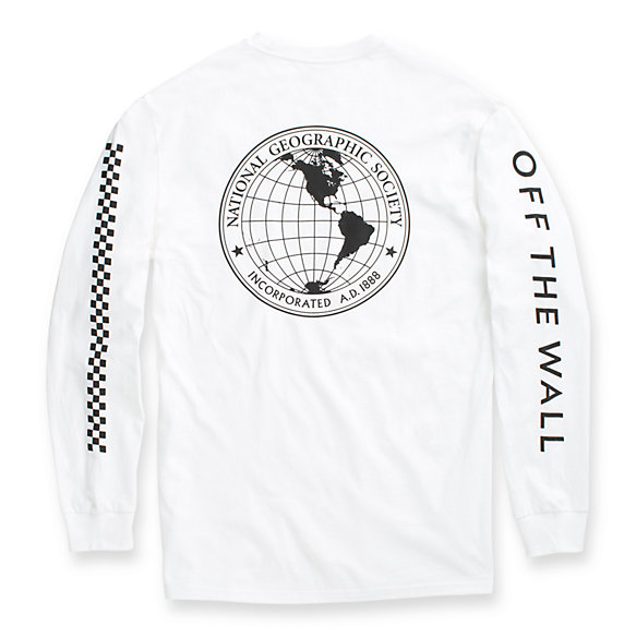 Vans X National Geographic Long Sleeve T-Shirt