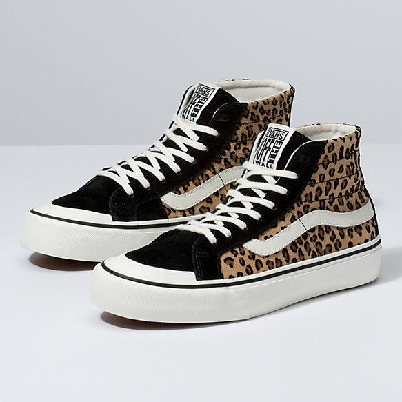 Mini Leopard Sk8-Hi 138 Decon SF