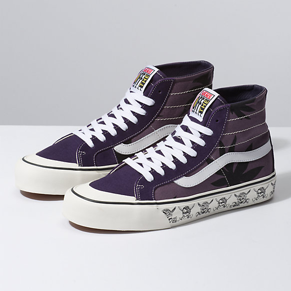 Summer Leaf Sk8-Hi 138 Decon SF