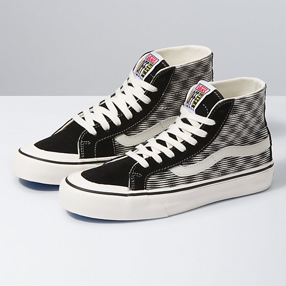 Hemp Blur Checker Sk8-Hi 138 Decon SF