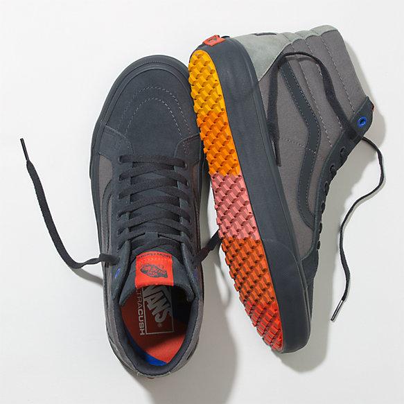 neue Fotos Neues Produkt Skate-Schuhe Vans X Hedley & Bennett Sk8-Hi Reissue UC